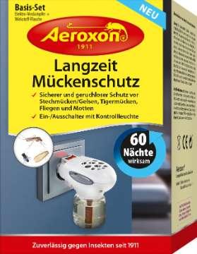 Aeroxon®: Langzeit-Mückenschutz und Langzeit-Mückenschutz Nachfüllflasche