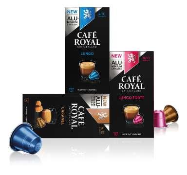 Café Royal: Aluminium-Kapseln für das Nespresso®*-System