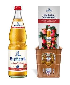 Fürst Bismarck: POS-Promotion Apfelbaumpatenschaften