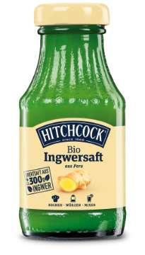 Hitchcock: Bio Ingwersaft