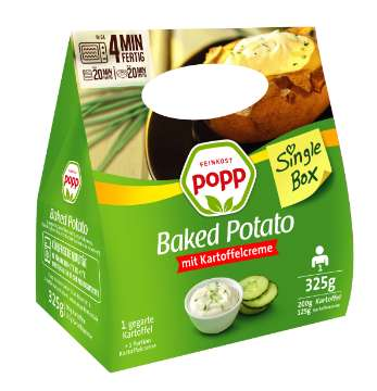 Popp: Baked Potato Single Box