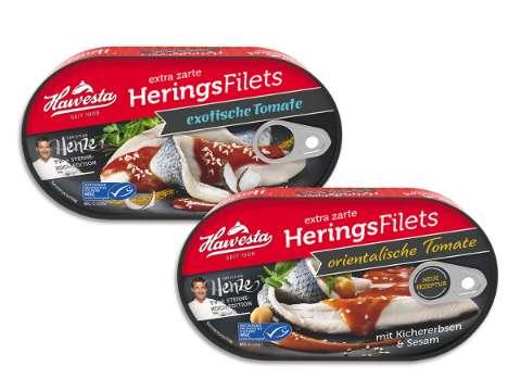 Hawesta: Hawesta Heringsfilets Henze-Edition