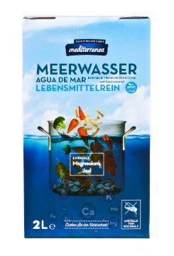 Mediterranea: Meerwasser zum Kochen, Backen und Marinieren