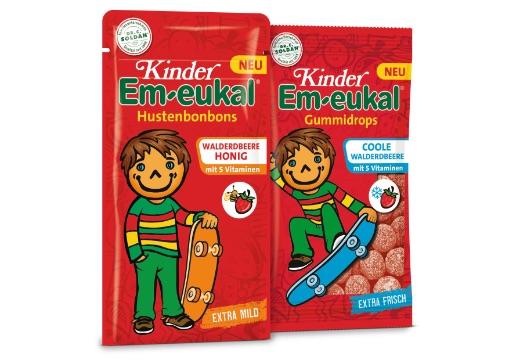 Kinder Em-eukal: Kinder Em-eukal Walderdbeere-Honig und Kinder Em-eukal Gummidrops Coole Walderdbeere