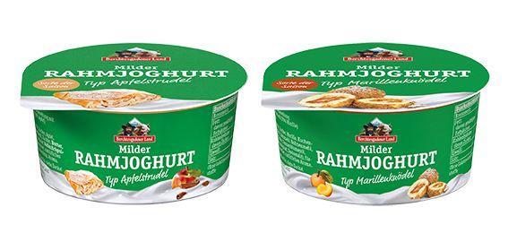 Berchtesgadener Land Milch: Milder Rahmjoghurt Apfelstrudel & Marillenknödel