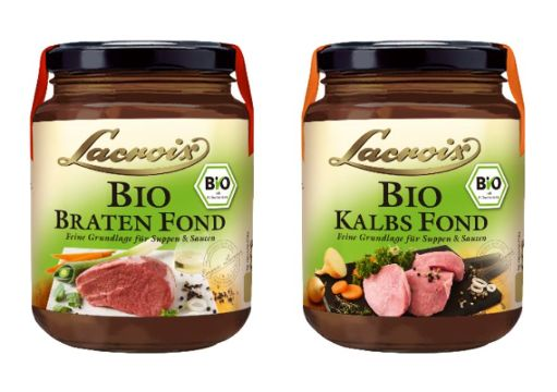 Lacroix: Bio Kalbs Fond & Bio Braten Fond