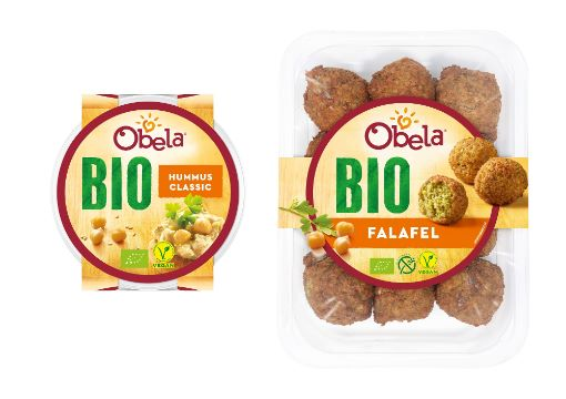 Obela: Bio Hummus und Bio Falafel