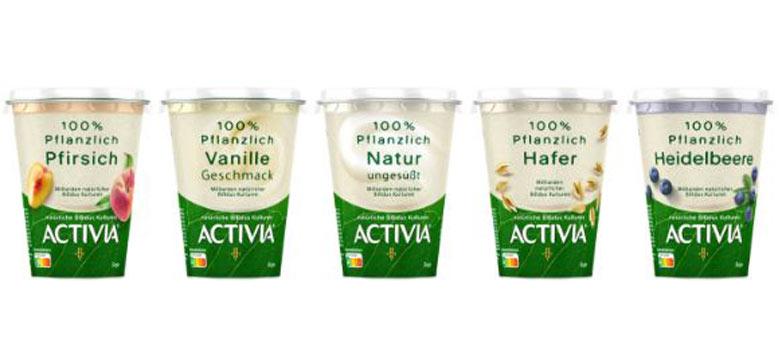 ACTIVIA: ACTIVIA 100% Pflanzlich