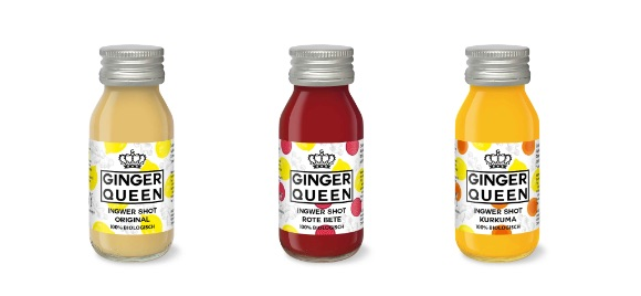 Ginger Queen: Ingwer Shots