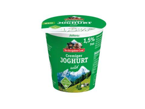 Berchtesgadener Land: Fettarmer cremiger Joghurt mild, 150g