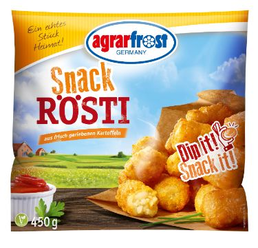 Agrarfrost: Snack Rösti