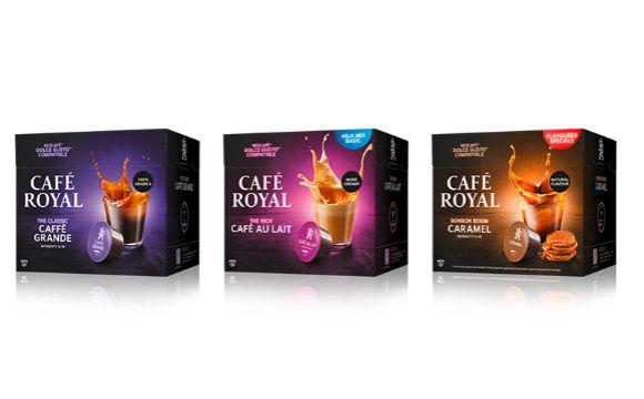 Café Royal: Kompatible Kapseln für das Nescafé®* Dolce Gusto®*-System