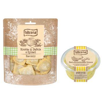 Hilcona: Hilcona Pasta und Pesto Tradizionale
