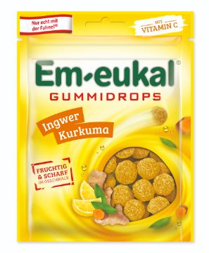 Em-eukal Gummidrops: Em-eukal Gummidrops Ingwer Kurkuma
