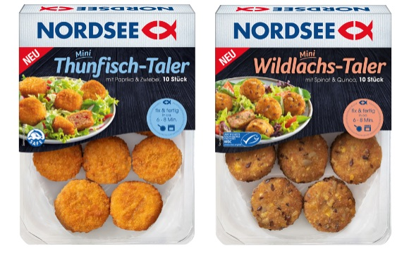 NORDSEE: Mini Thunfisch-Taler, Mini Wildlachs-Taler