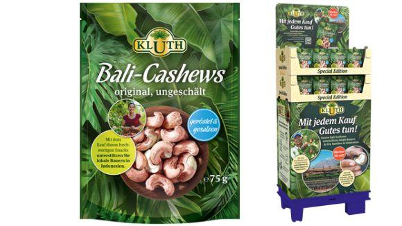 KLUTH: Mit Nüssen Gutes tun: KLUTH Bali-Cashews 75 g