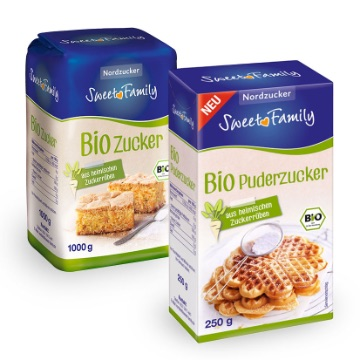SweetFamily von Nordzucker: Regional: SweetFamily Bio-Puderzucker