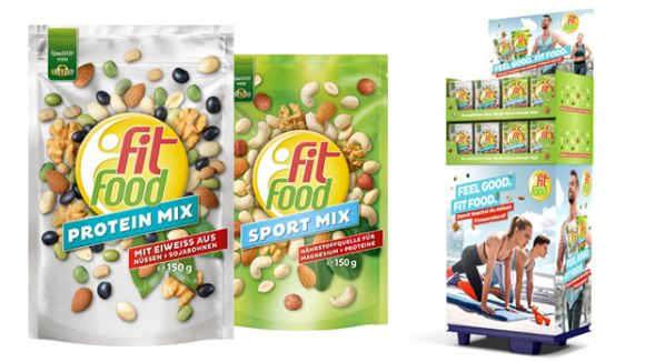 Fit Food: Fit Food Protein Mix & Sport Mix im 150g Beutel