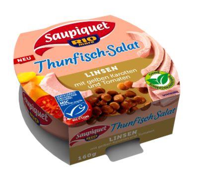 Saupiquet : Thunfisch-Salat Linsen