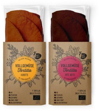 Beetgold: Vollgemüse Tortillas