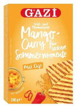 Grill- und Pfannenkäse Sommermomente Mango-Curry