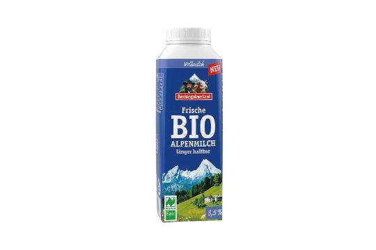 Frische Bio-Alpenmilch 3,5% Fett