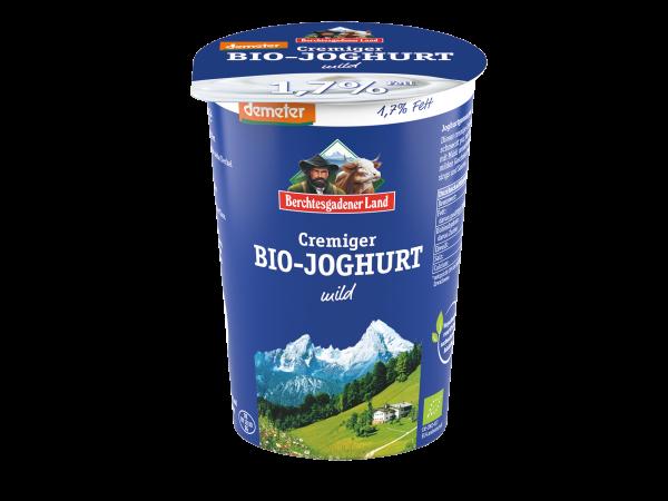 DEMETER Cremiger Bio-Joghurt mild, 1,7% Fett