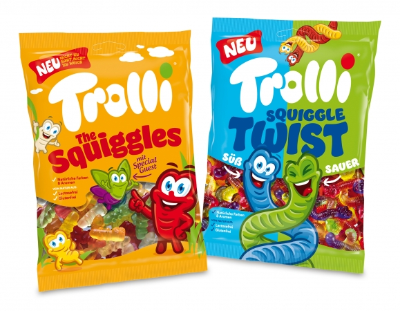 Trolli The Squiggles & Squiggle Twist