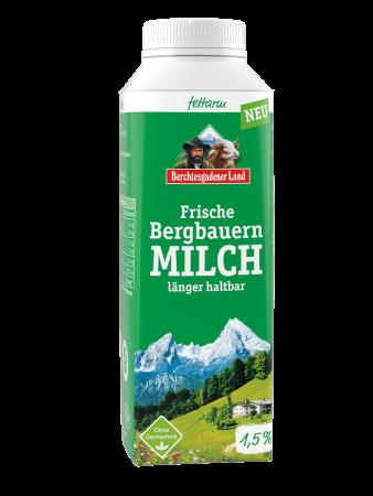 Frische fettarme Bergbauern-Milch 400ml