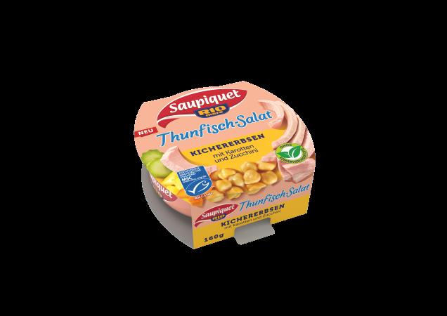 Thunfisch-Salat Kichererbsen