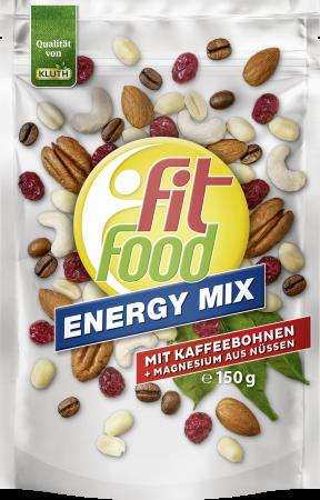 Neuer Energieschub – mit dem Fit Food Energy Mix