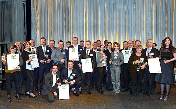 Preisträger im Rahmen der Grünen Woche geehrt