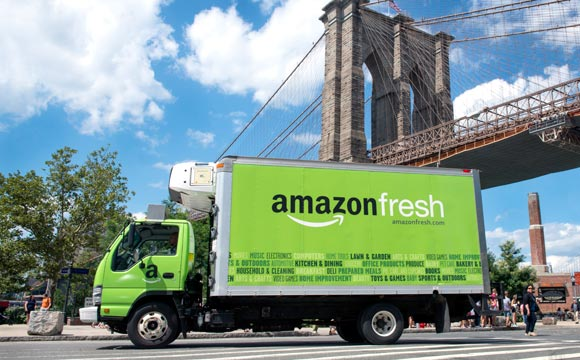 Amazon Fresh: Start in London