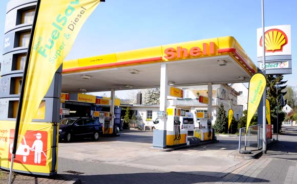 Paket-Allianz mit Shell