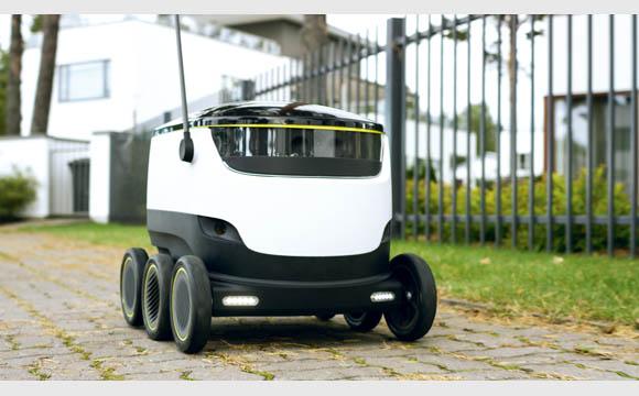 Roboter erleichtert den Einkauf