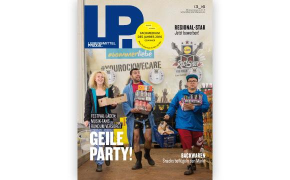 Ausgabe 13 vom 12. August 2016: Geile Party!