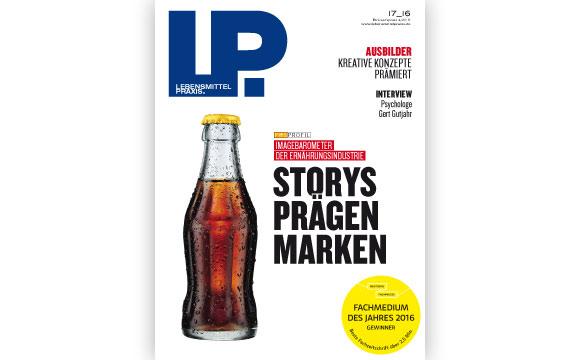 Ausgabe 17 vom 21. Oktober 2016:Storys prägen Marken