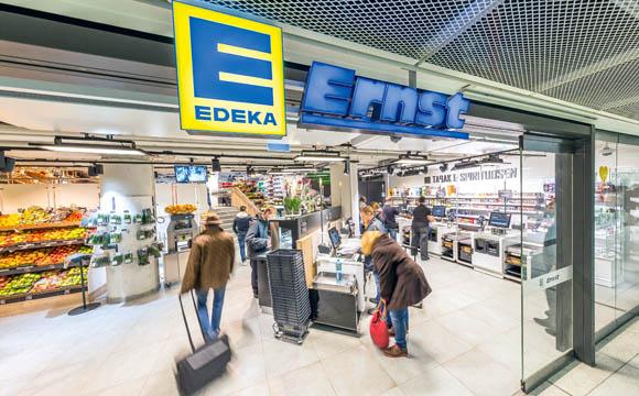 Edeka: Münchner Hauptbahnhof