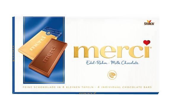 Merci Tafelschokolade / Storck Deutschland