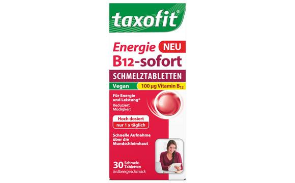 Taxofit Energie B12-sofort Schmelztabletten / MCM Klosterfrau Vertriebsgesellschaft