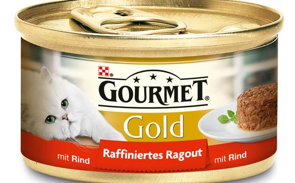 Tiernahrung - Bronze: Gourmet Gold Raffiniertes Ragout / Nestlé Purina Petcare Deutschland