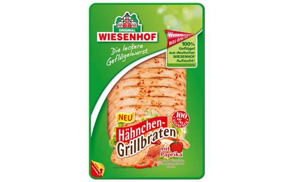 Fleisch und Wurst - Bronze:Wiesenhof Hähnchen-Grillbraten mit Paprika / Wiesenhof
