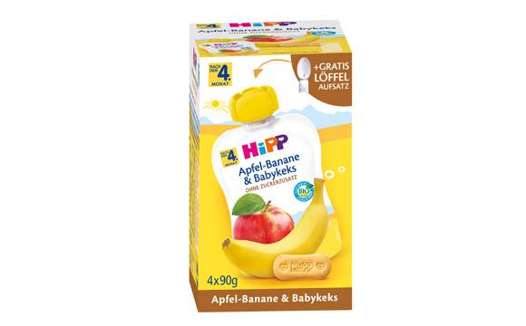 Baby- und Kinderprodukte - Bronze: Hipp Apfel-Banane & Babykeks / Hipp