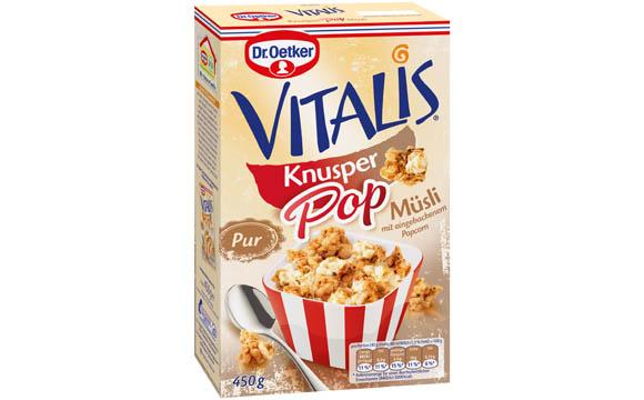 Dr. Oetker Vitalis Knusper Pop / Dr. August Oetker Nahrungsmittel
