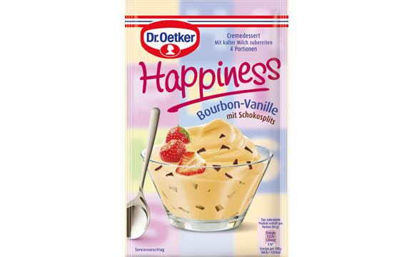 Dr. Oetker Happiness Cremedesserts / Dr. August Oetker Nahrungsmittel
