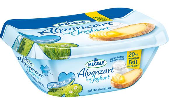 Alpenzart mit Joghurt / Molkerei Meggle