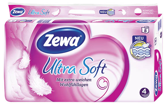 Zewa Ultra Soft Toilettenpapier / Essity Deutschland