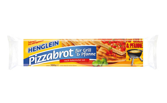 Chilled Food - Gold: Pizzabrot für Grill & Pfanne / Henglein
