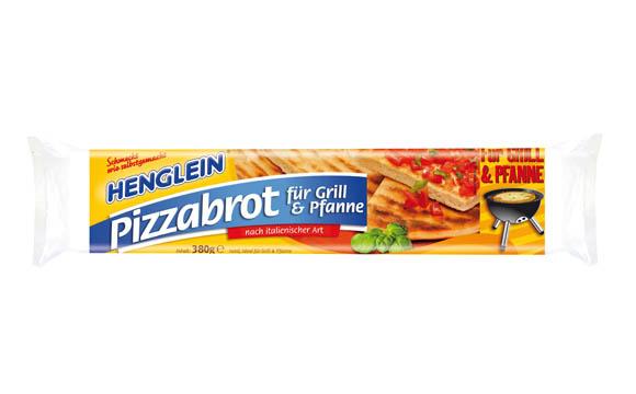 Chilled Food - Gold:Pizzabrot für Grill & Pfanne / Henglein