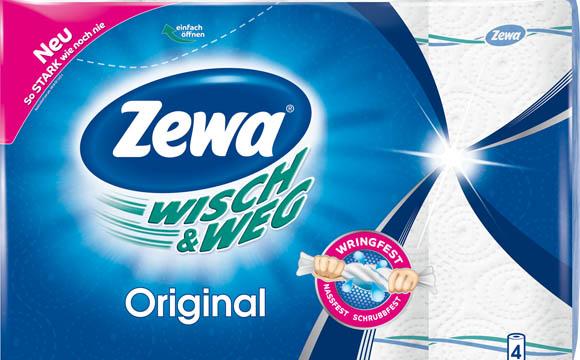 Hygienepapiere - Gold: Zewa Wisch & Weg / SCA Hygiene Products